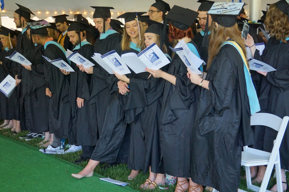 373 Students Participate In 2018 Commencement Ceremony At